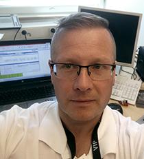 KYS viestintäpäällikkö Sami Haapamäki