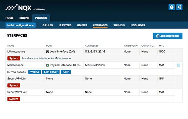 NQX palomuuri SSH ja tietoturva