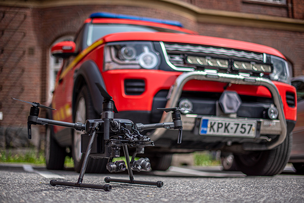 Varsinais-Suomen pelastuslaitos drone Erillisverkot