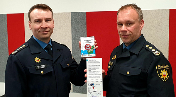 Erillisverkot rpas Teemu Veneskari ja Marko Hassinen.