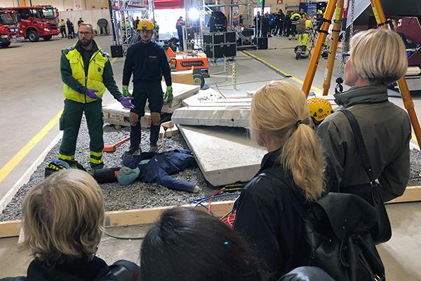 barents rescue 2019 harjoitus kiiruna