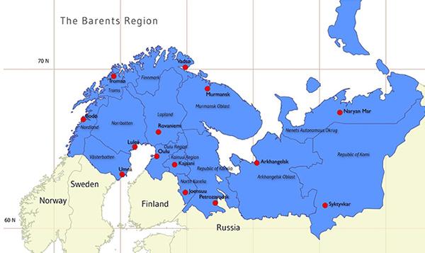 barents rescue 2019 harjoitus kiiruna barentsin alueen kartta
