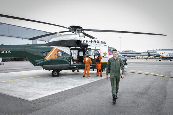 Mikko Ketonen, Rajavartiolaitos ja Super Puma