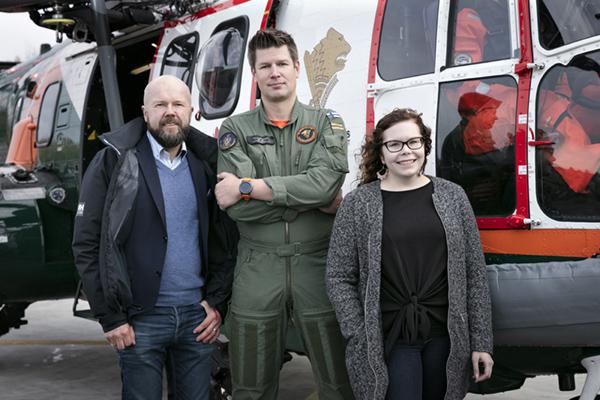 Kimmo Komulainen, Mikko Ketonen ja Reetta Siltasalmi-Kautto